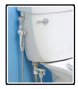 Rinseworks Aquaus 360 Handheld Bidet Diaper Sprayer Rinseworks