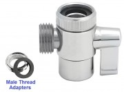 faucet diverter valve with male thread 2
