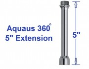 hand held bidet extension for new and improved Aquaus 360 by RInseWorks