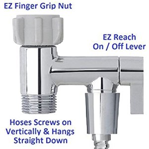 Hand Held bidet sprayer toilet adpater