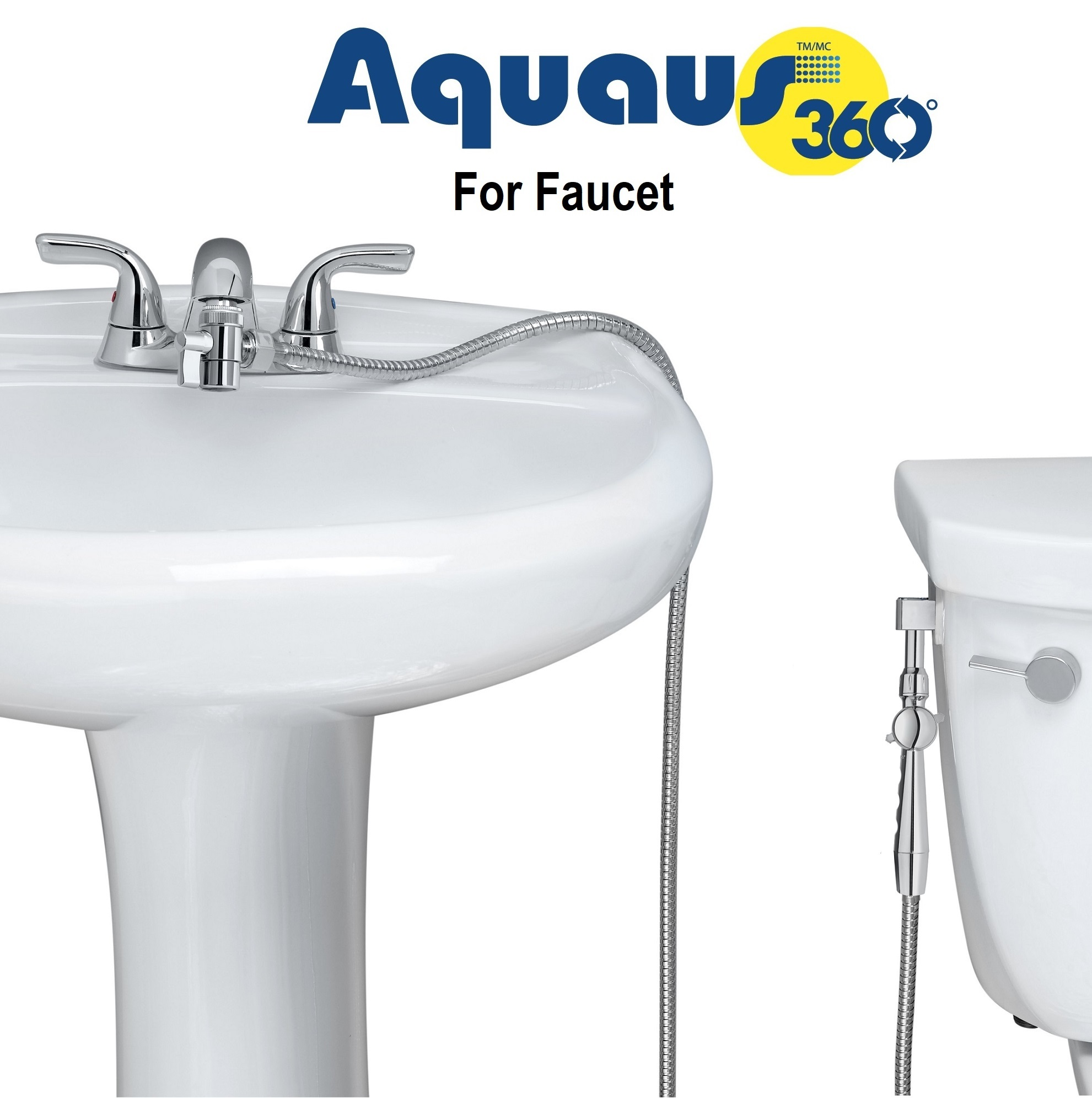Aquaus 360 hand held bidet Box